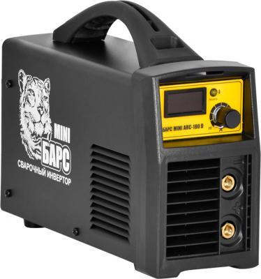 Сварочный аппарат БАРС Mini ARC-180 D 5.6кВт 220 расшир. диапазон MMA инвертор с кейсом барс mini arc 180 d 220в св000006591