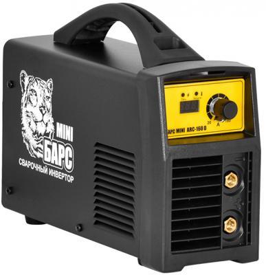 Сварочный аппарат БАРС Mini ARC-160 D 4.8кВт 220 расшир. диапазон MMA сварочный инвертор барс profi arc 407 d