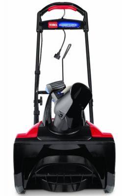 купить Снегоуборщик TORO 38302 POWER CURVE электро 1800Вт шир.46см.12кг электрический по цене 20590 рублей