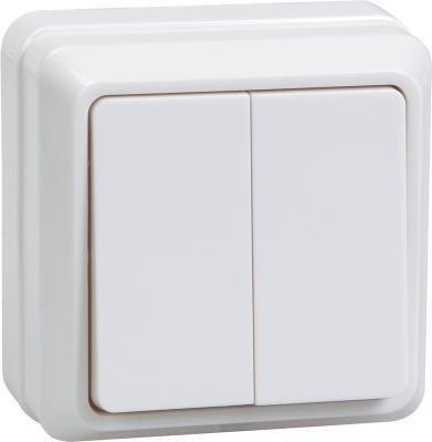 Выключатель IEK Октава 10 A белый ВС20-2-0-ОБ EVO20-K01-10-DC