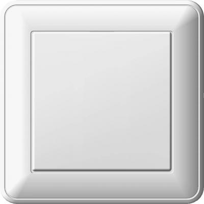 Купить Переключатель WESSEN 59 VS616-156-18 Белый 1-клавишный 16А сх.6 в сборе с рамкой, белый