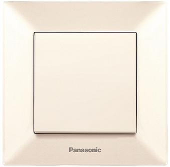 Выключатель Panasonic Arkedia 10 A кремовый WMTC0001-2BG-RES