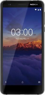 Смартфон NOKIA 3.1 16 Гб черный (11ES2B01A01) смартфон nokia 7 plus черный