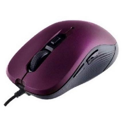 Perfeo мышь оптическая, BREEZE, 6 кн, DPI 800-3200, USB, красный (PF-386-OP-RD)