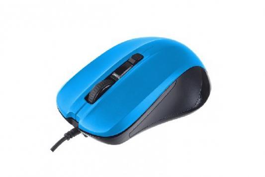 Perfeo мышь оптическая, REGULAR, 4 кн, DPI 800-1600, USB, синий (PF-381-OP-BL) мышь perfeo hill pf 363 blue pf 363 op bl