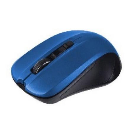 цены Мышь беспроводная Perfeo PF-381-WOP-DBL синий USB + радиоканал