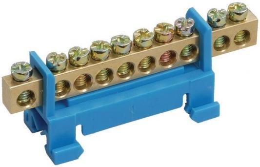 Iek YNN10-69-14P-K07 Шина N ноль на DIN-изол тип Стойка ШНИ-6х9-14-С-С ИЭК