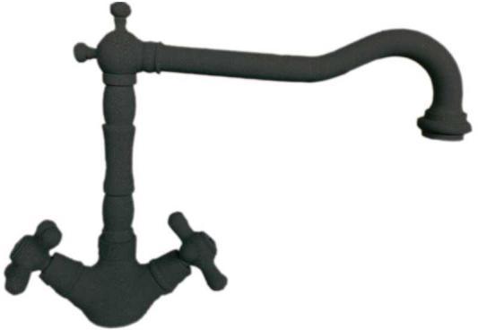 Смеситель Italmix NOVECENTO 0910 BLACK METALIC латунь черный/металлик