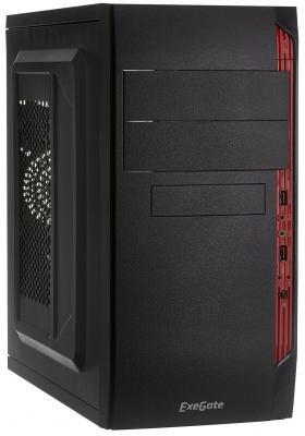Корпус microATX Exegate QA-410 450 Вт чёрный (EX272734RUS)