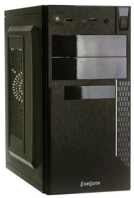 все цены на Exegate EX272743RUS Корпус MinitowerQA-411 Black, mATX, <без БП> 2*USB, Audio онлайн