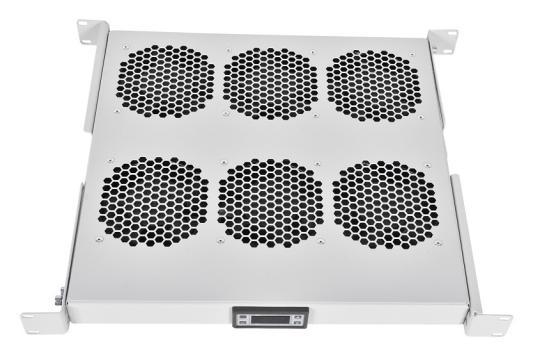 ЦМО Модуль вентиляторный 19 1U, 6 вентиляторов, регул. глубина 390-750 мм с контроллером R-FAN-6K-1U 6 inch 6 kitchen toilet wall circular exhaust fan powerful flow fan ventilator