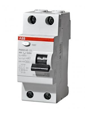 ABB 2CSF202004R1400 Выкл.диф.тока 2мод. FH202 AC-40/0,03 узо abb f202 ac 40 0 03