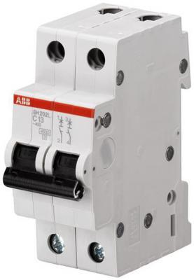 ABB 2CDS242001R0164 Автоматич.выкл-ль 2-пол. SH202L C16