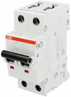 ABB 2CDS252001R0254 Автомат.выкл-ль 2-полюсной S202 C25 автомат 2p 16а тип с 6 ka abb s202