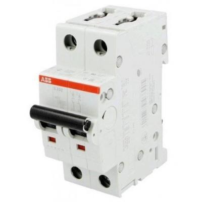 ABB 2CDS252001R0324 Автомат.выкл-ль 2-полюсной S202 C32 автомат 2p 16а тип с 6 ka abb s202