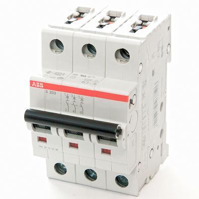 ABB 2CDS253001R0504 Автомат.выкл-ль 3-полюсной S203 C50