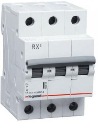 Legrand 419708 RX3 Авт.выключатель 4,5кА 16А 3П C