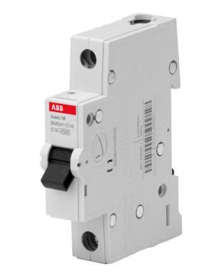 ABB 2CDS641041R0164 Авт. выкл. 1P, 16A, C, 4,5кА, BMS411C16