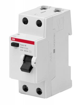 ABB 2CSF602041R1250 Выкл.диф.тока 2P, 25A, 30мА, AC, BMF41225