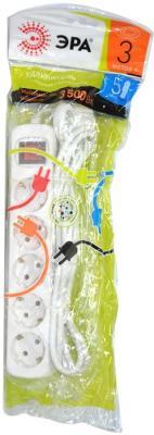 цена на Удлинитель Эра Б0028383 5 розеток 5 м