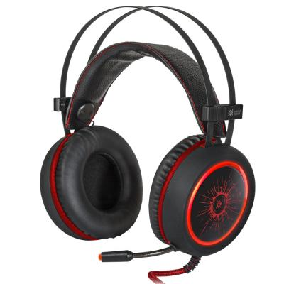 Игровая гарнитура проводная Defender G-530D черный красный игровая гарнитура проводная marvo h8321 черный красный