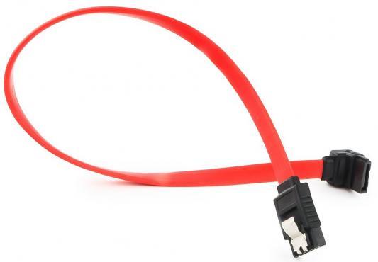 Cablexpert Кабель интерфейсный SATA, 30см, угловой разъем, 7pin/7pin, защелка (CC-SATAM-DATA90-0.3M)