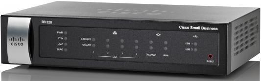 Cisco SB RV320-K8-RU Беспроводной маршрутизатор Dual Gigabit WAN VPN Router