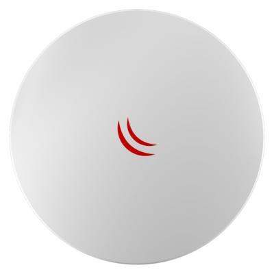 Точка доступа MikroTik RBDynaDishG-6HnD 802.11an 300Mbps 6 ГГц 1xLAN LAN белый