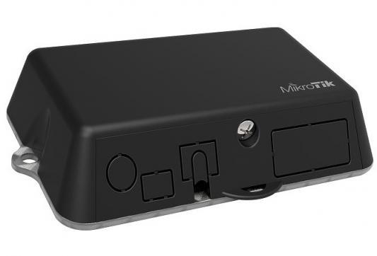 Точка доступа MikroTik LtAP mini 802.11bgn 150Mbps 2.4 ГГц 1xLAN LAN черный