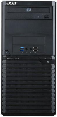 ПК Acer Veriton M2640G MT i3 7100 (3.9)/4Gb/500Gb 7.2k/HDG/DVDRW/Windows 10 Professional/GbitEth/500W/клавиатура/мышь/черный  - купить со скидкой