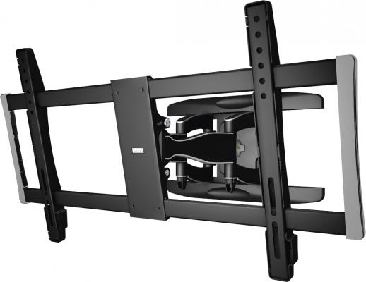 Кронштейн для телевизора Hama Fullmotion TV Premium черный 37-90 макс.60кг настенный кронштейн для телевизора hama h 96099 черный 19 48 макс 60кг настенный фиксированный