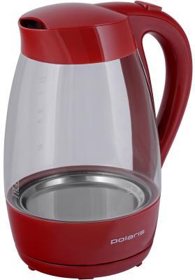 Чайник электрический Polaris Polaris PWK 1706CG 2000 Вт красный 1.7 л стекло