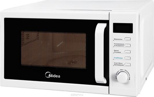 Микроволновая Печь Midea AM820CUK-W 20л. 800Вт белый микроволновая печь supra 20tw16 20л 700вт белый