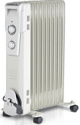 Масляный радиатор Polaris Wave PRE D 1025 2500 Вт колеса для перемещения белый масляный радиатор polaris pre a 0920 2000 вт чёрный