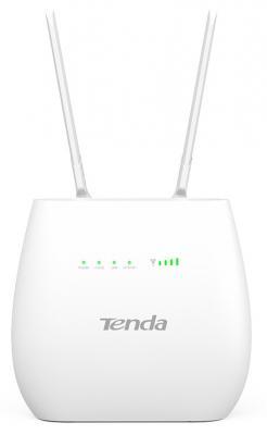 Маршрутизатор Tenda 4G680 802.11bgn 300Mbps 2.4 ГГц 3xLAN черный беcпроводной маршрутизатор tenda f300 802 11n 300mbps 2 4ггц