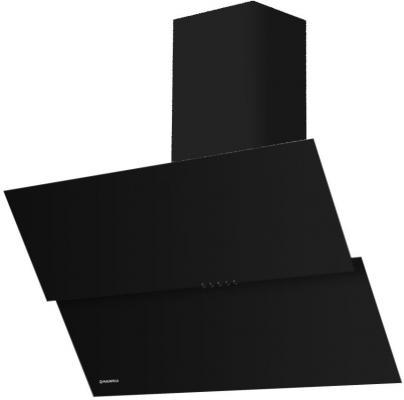 все цены на Вытяжка подвесная Maunfeld Plym Light 60 черный черный онлайн