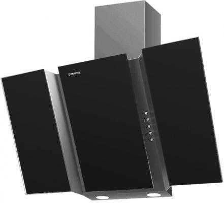Вытяжка подвесная Maunfeld Trent Glass 90 черный / серый черный/серый
