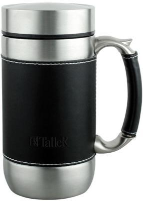 Термокружка TalleR TR-2406 Блэйк 0,45л чёрный серебристый