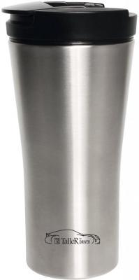 Термокружка TalleR TR-2419 Альтон 0,45л серебристый чёрный