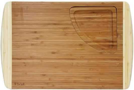 2208-TR Доска разделочная TalleR со съемным лотком доска разделочная со съемным лотком taller tr 2208