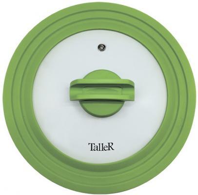 Крышка TalleR 8006-TR стекло/силикон 24 см
