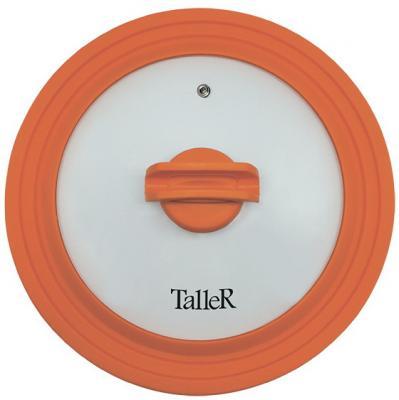 Крышка TalleR 8007-TR стекло/силикон 28 см