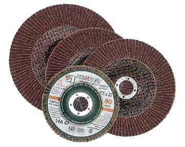 Лепестковый круг 125 Х 22 Р 80 (№20) КЛТ тип 2 лепестковый круг 150 х 22 р 80 тип 1 клт hammer flex 213 012 круг лепестковый торцевой