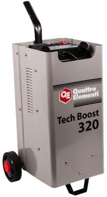 Пуско-зарядноеустройство QUATTROELEMENTI771-442 TechBoost320 (12/24Вольт,заряддо45А,пу инвертор quattro elementi b 205 205 а пв 80% до 5 0 мм 5 3 кг дисплей tig lift от 170в кейс