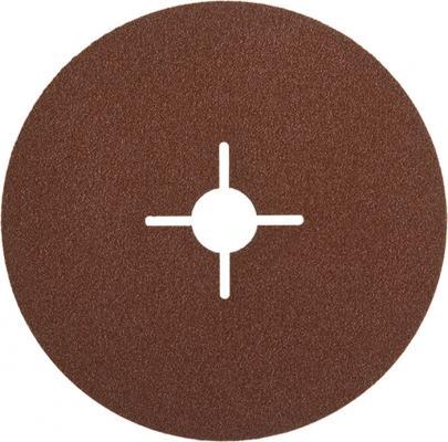 Круг шлифовальный ЗУБР 35585-150-024 ПРОФИ фибровый для УШМ P24 150х22мм 5шт. цена 2017