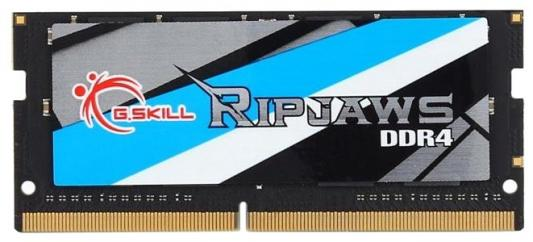 Оперативная память для ноутбука 8Gb (1x8Gb) PC3-19200 2400MHz DDR4 SO-DIMM CL16 G.Skill F4-2400C16S-8GRS оперативная память для ноутбука 8gb 1x8gb pc4 19200 2400mhz ddr4 so dimm cl16 crucial bls8g4s240fsdk