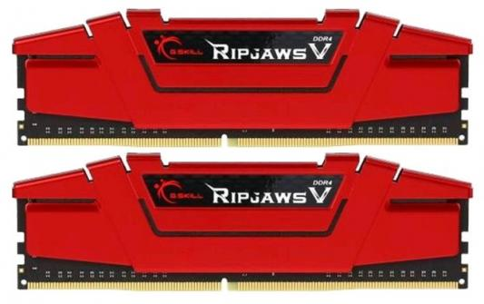 Оперативная память 16Gb (2x8Gb) PC4-19200 2400MHz DDR4 DIMM CL15 G.Skill F4-2400C15D-16GVR Blazing Red цена и фото