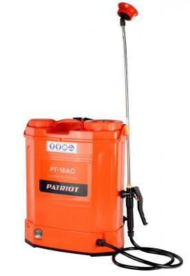 Распылитель ранцевый PT-16AC аккумулятор patriot для опрыскивателей pt 16ac pt 16li 755301016