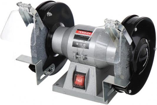 Станок точильный ПОБЕДА СТ-125/250 125 мм delta lux нтс4 250 настольный точильный станок