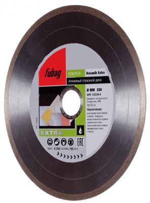 Купить Алмазный диск Keramik Extra_ диам. 230/30/25.4, Fubag